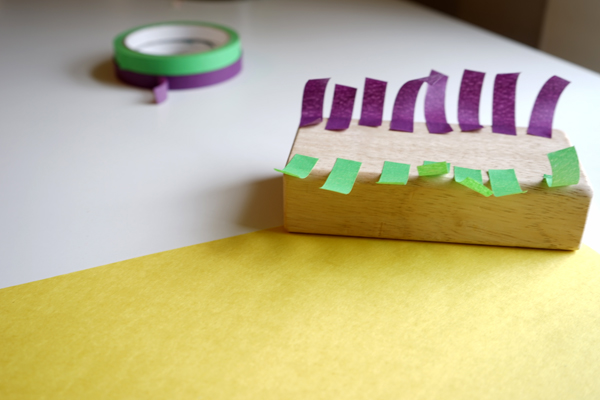 The Creative Table Project | an Invitation to Create with Tape and Paper