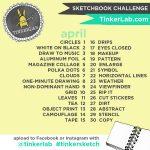 TinkerSketch Instagram Sketchbook Challenge