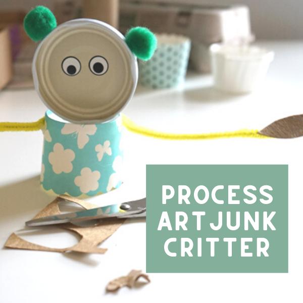 Junk Critters | Make Art with Recycled Materials