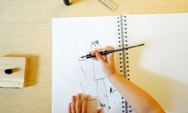Introduce Kids to Calligraphy | TinkerLab