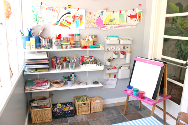 TinkerSpaces: Art Pantry Studio Tour  | TinkerLab
