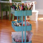 How to set up and Art Cart for easy-to-reach, everyday art suppiles| TinkerLab