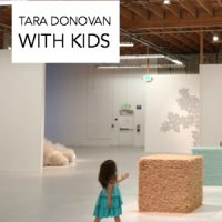 Tara Donovan with Kids