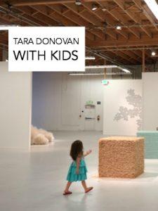 Tara Donovan with Kids