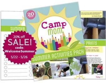 camp mom discount