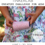 Creative Challenge for Kids | String | TinkerLab.com