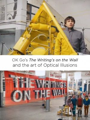 OK Go Optical Illusion Art
