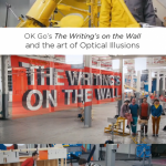 OK Go's The Writing's on the Wall Music Video and Optical Illusion | TinkerLab.com