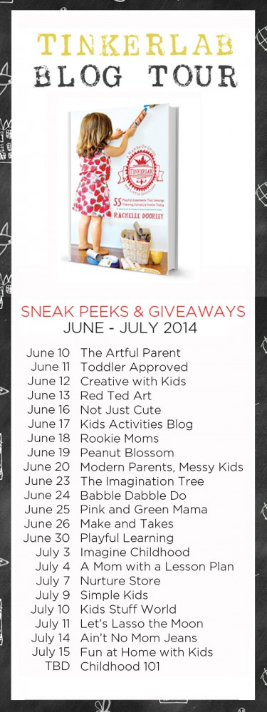 Such an Amazing Line-up! TinkerLab Blog Tour 2014