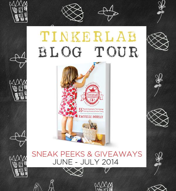 TinkerLab Blog Tour 2014   Sneak Peeks and Giveaways!