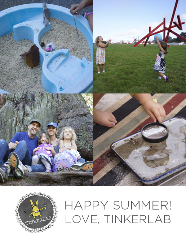 happy summer collage