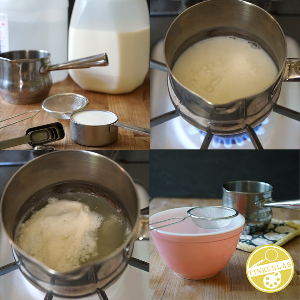 Cool Science Experiments | Make Curds and Whey | TinkerLab