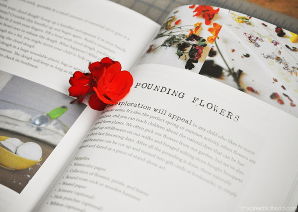 Pounding Flowers project | TinkerLab: A Hands-on Guide for Little Inventors