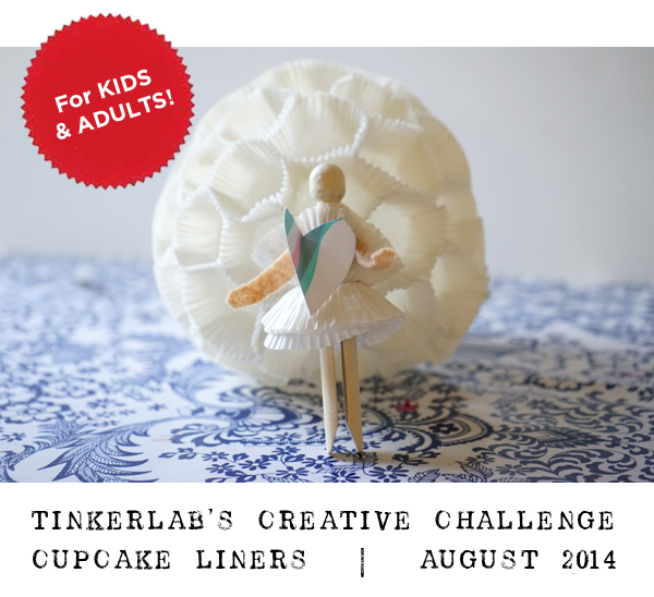 TinkerLab Creative Challenge | For Kids and Adults | Cupcake Liners