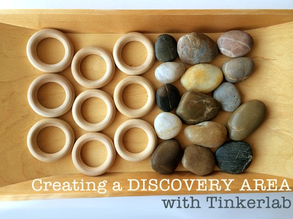Set up a Discovery Table, inspired by the TinkerLab Book | Childhood 101