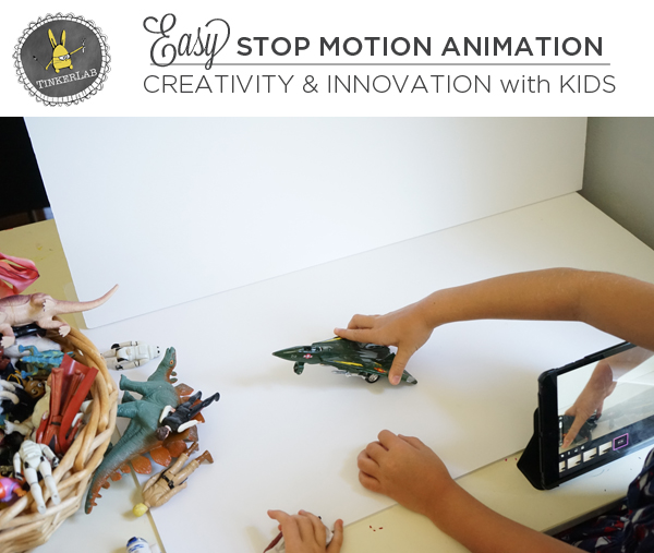 Easy Stop Motion Animation for Kids | TinkrerLab.com