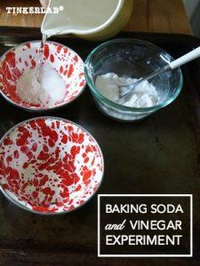 baking soda vinegar experiment