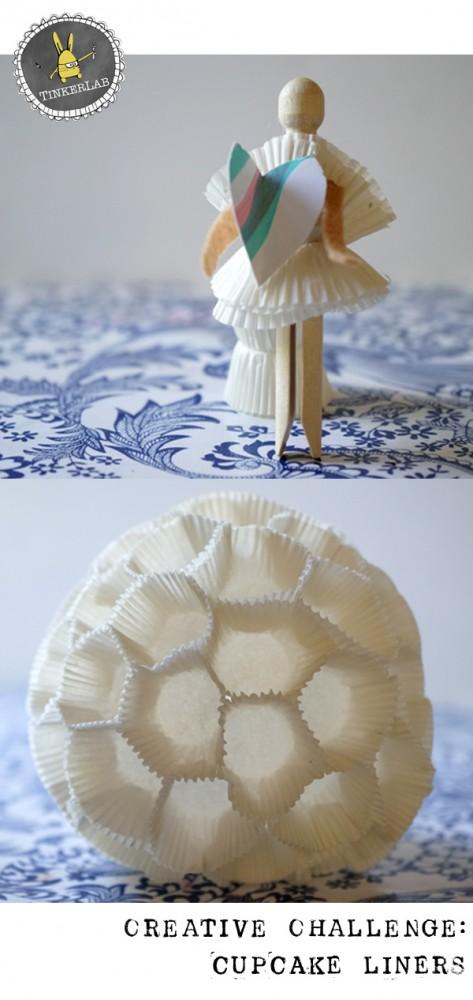 TinkerLab Creative Challenge Cupcake Liners