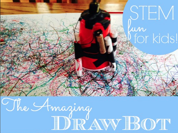 Make a Draw Bot with Kids | from the TinkerLab book
