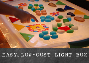 Easy, low-cost Light Box | TinkerLab.com
