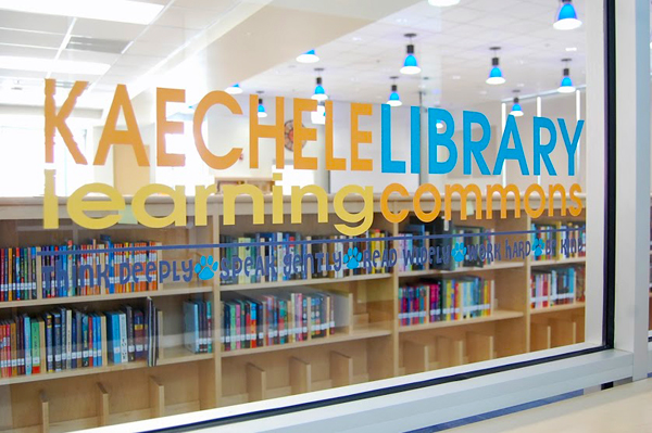 Library Maker Space | Kaechele Learning Commons | TinkerLab.com TinkerSpace Series