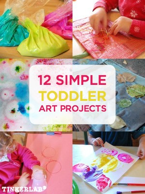12 Art Projects For Toddlers