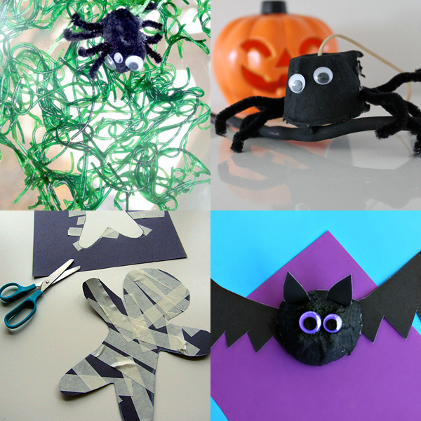 Halloween Crafts for Kids | TinkerLab.com