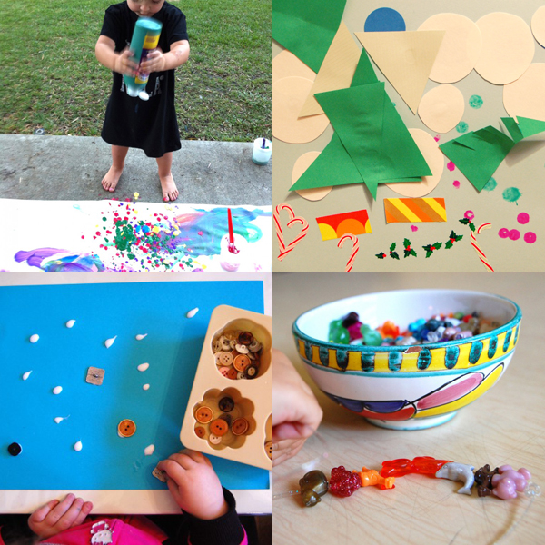 Simple Art And Craft Ideas For Kids Part - 47: 12 Simple And Fun Art Projects For Toddlers | TinkerLab.com