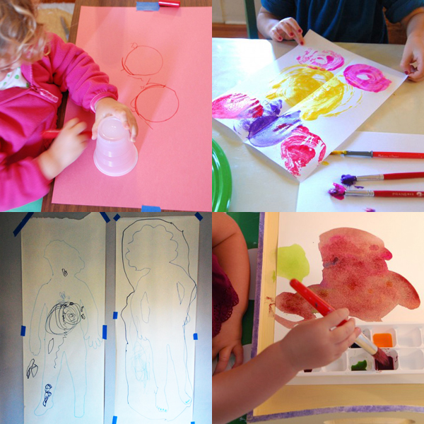 Awesome Simple Art And Craft Ideas For Kids Part - 11: 12 Simple And Fun Art Projects For Toddlers | TinkerLab.com
