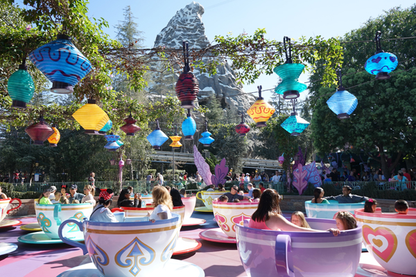 Tea Cups at Disneyland | TinkerLab.com