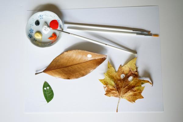 Fall Craft Ideas | Leaf Critters | TinkerLab.com