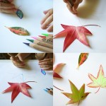 Fall Craft Ideas: Leaf Drawing
