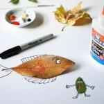 Fall Craft Ideas | Leaf Critters