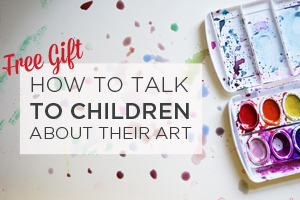 How to talk to children about their art