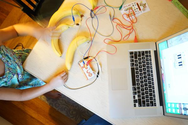 Makey Makey Banana Piano | TinkerLab.com