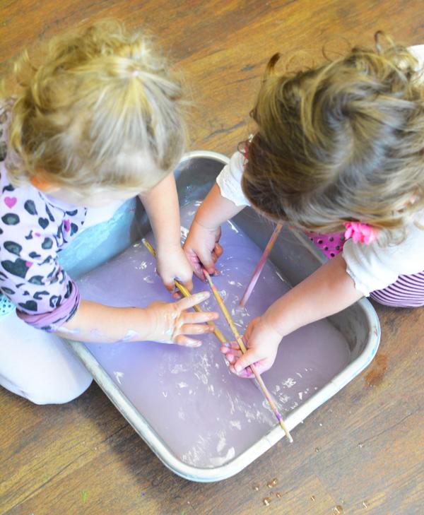Meri Cherry Clean Up Tips | TinkerLab.com