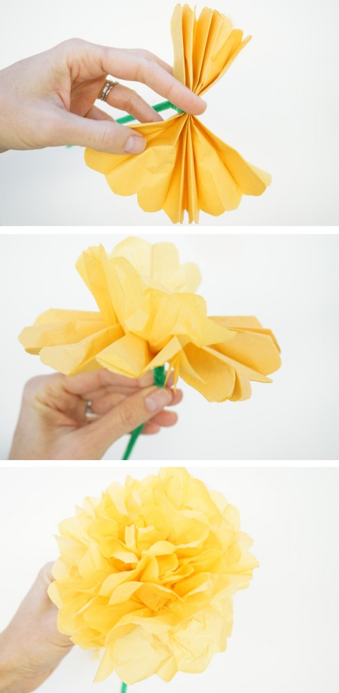 How To Make Marigolds For Day Of The Dead TinkerLab