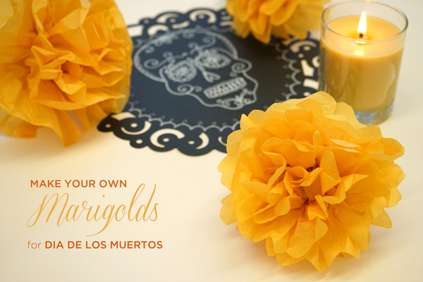 How to make marigolds for day of the dead tinkerlab simple diy paper marigolds for dia de los muertos tinkerlab paper flower supplies mightylinksfo
