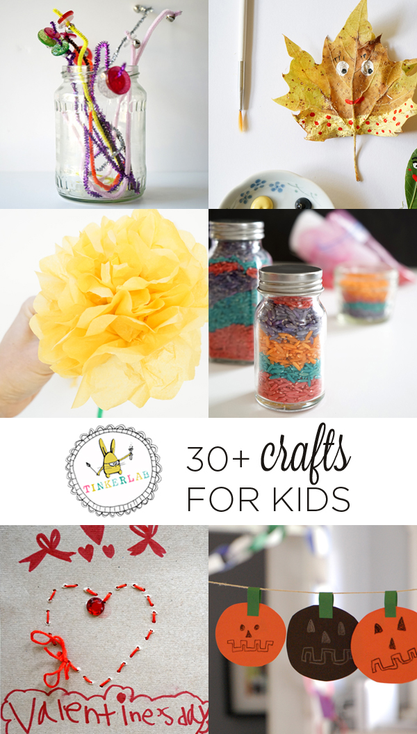 Arts and crafts for kids | TinkerLab.com