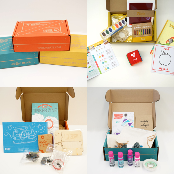 Kiwi Crate Kits Peek Inside | TinkerLab.com