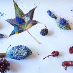 Creative Table | Making with Glitter + Natural Objects