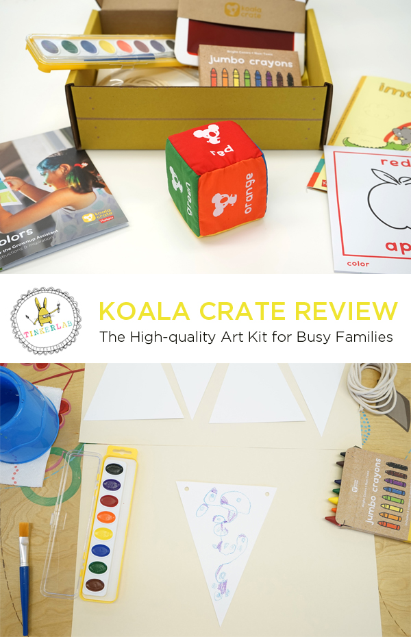 Koala Crate Review (and a 60% discount code!)| TinkerLab.com