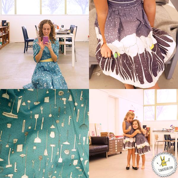 Art Studio Party Dresses on TinkerLab