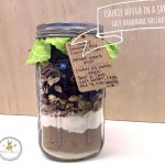 Easy Handmade Gifts | Cookie Dough Jars