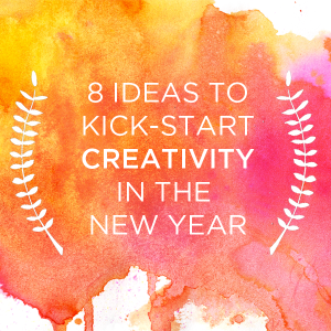 8 Ideas to Kick-Start Creativity in the New Year | TinkerLab.com