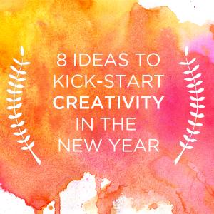 8 Ideas to Kick-Start Creativity in the New Year | TinkerLab.com