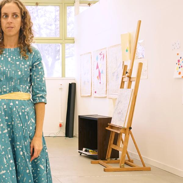 Artist, Rachelle Doorley in Art Studio | TinkerLab