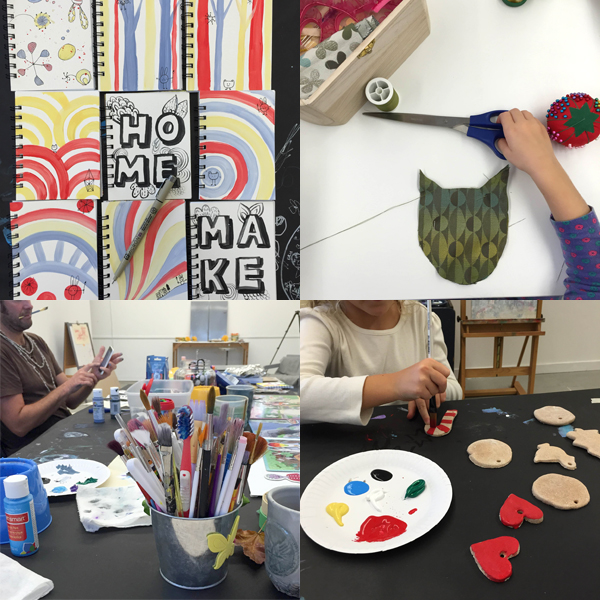 Art Projects at TinkerLab