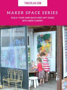 Build a family backyard art oasis