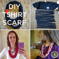 The No-Sew T-Shirt Scarf